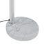 Stojací Lampa Stella - barvy chromu, Moderní, kov/kámen (110/210cm) - Mömax modern living