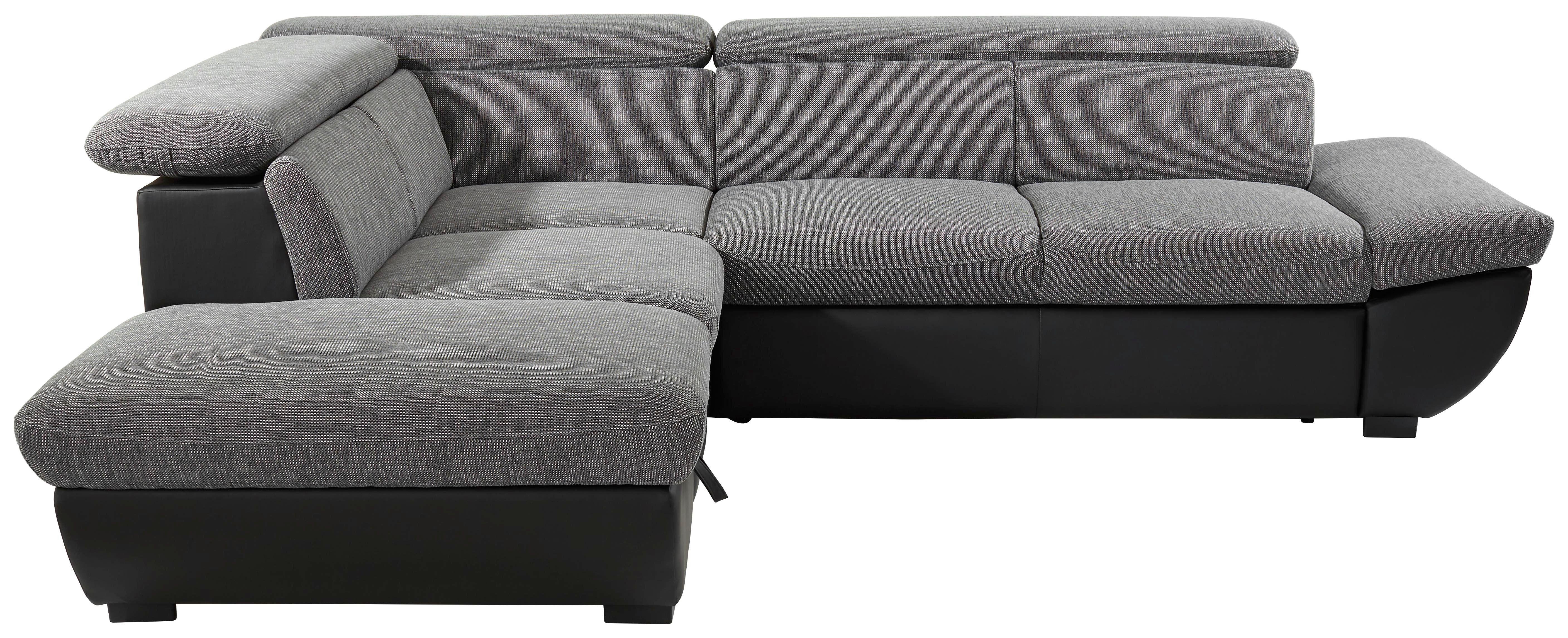 Sedací Souprava Chance - šedá/černá, Moderní, textilie (228/270cm)