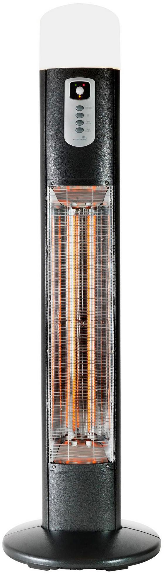 Heizstrahler Warmwatcher Diana - Grau, MODERN, Metall (50/170cm)