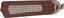 Deckenventilator Aston - Eichefarben, MODERN, Glas/Holz (106,6/41,5cm)