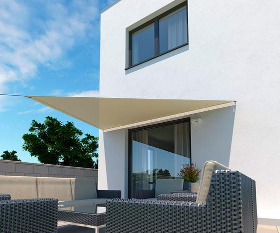 Sonnensegel Dreieck 3,6x3,6x3,6 M - Creme, MODERN, Textil (360/360cm)