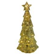 LED-Dekoleuchte H:25,5 cm - Goldfarben, MODERN, Kunststoff (9/25,5/11,3cm)