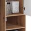 Kleiderschrank Box B:98cm Artisan Eiche - Eichefarben/Weiß, MODERN, Holzwerkstoff (98/205/55cm)