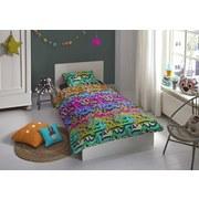 Bettwäsche Graffity - Multicolor, Basics, Textil