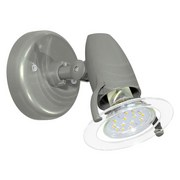 LED-spotleuchte Pocket 2 - Transparent/Grau, MODERN, Kunststoff (8,5cm)