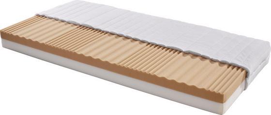 Kaltschaummatratze Lisi H2 140x200 - Weiß, KONVENTIONELL, Textil (200/140/17cm) - Primatex