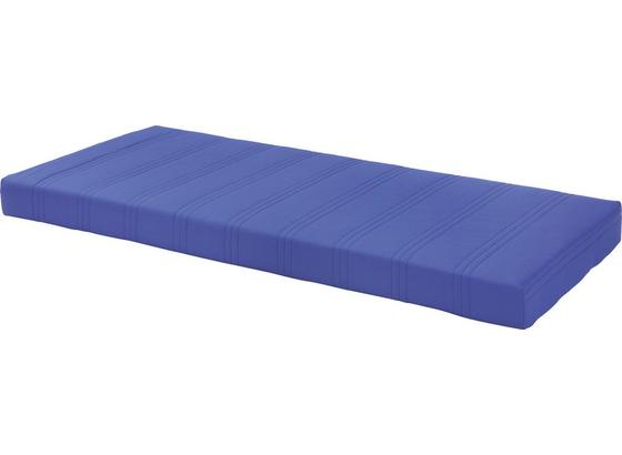 Bonellfederkernmatratze Kim 90x200cm H2 - Blau, MODERN, Textil (90/200cm)