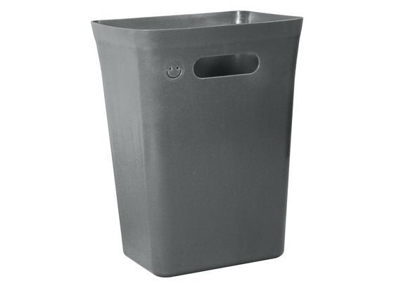 Koš Odpadkový Anne - černá, umělá hmota (24,6/19,0/33,0cm) - Mömax modern living