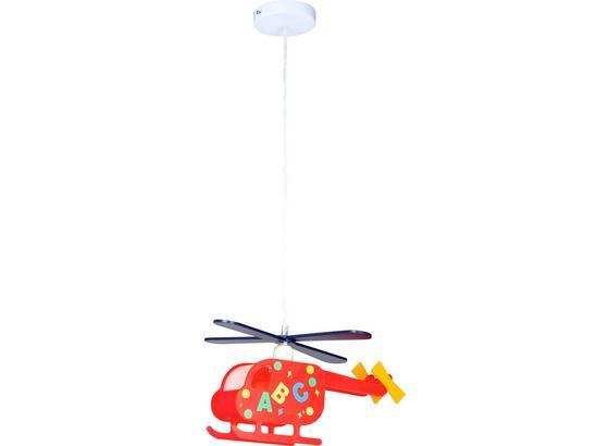 Hängeleuchte Kita Helikopter - Multicolor, KONVENTIONELL, Kunststoff (35/10/97cm)