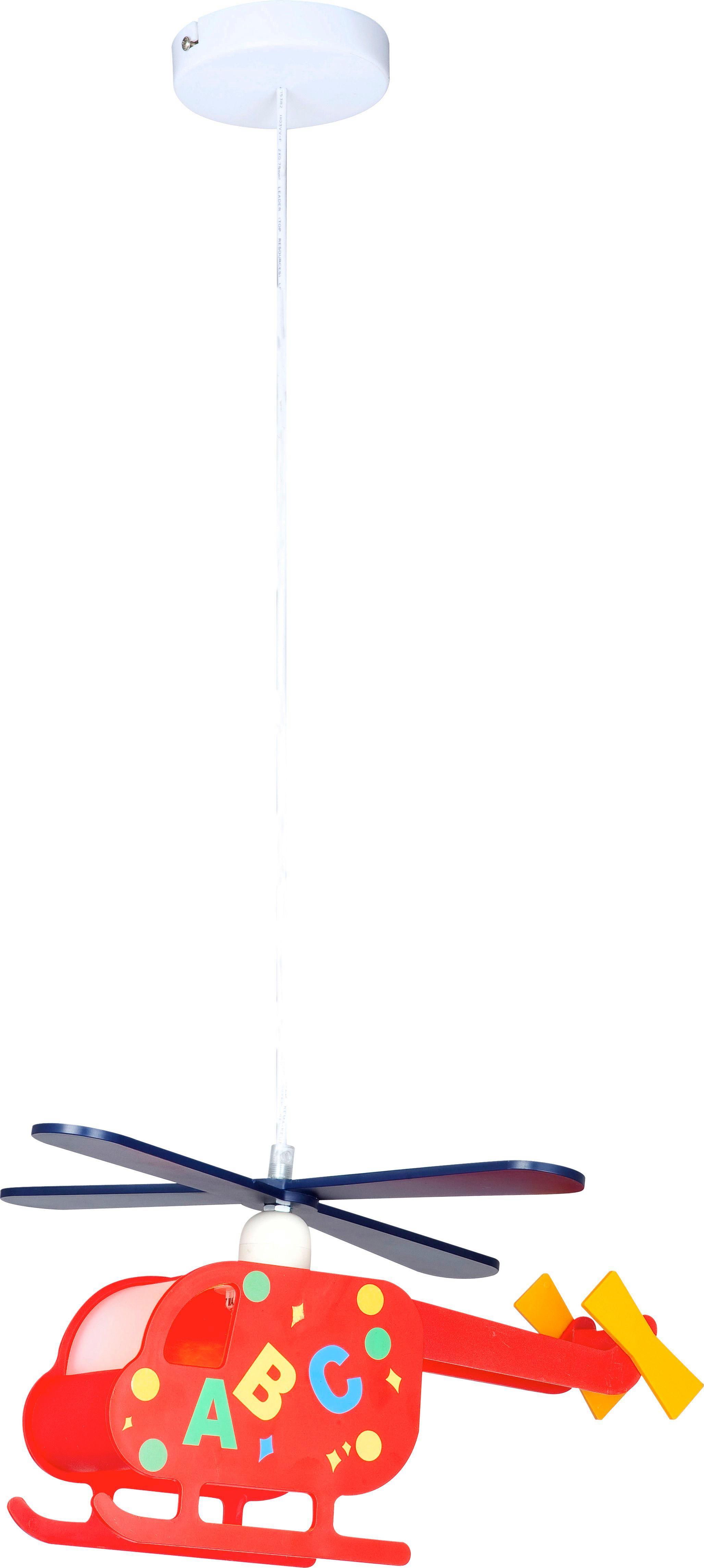 Hängeleuchte Kita - Multicolor, KONVENTIONELL, Kunststoff (35/10/97cm)