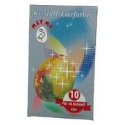Eierfarbe Kristall-eierfarben - Multicolor, KONVENTIONELL (6/10/0,2cm)
