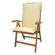 Sesselauflagenset Premium T: 120 cm - Beige, Basics, Textil (50/8-9/120cm) - MID.YOU