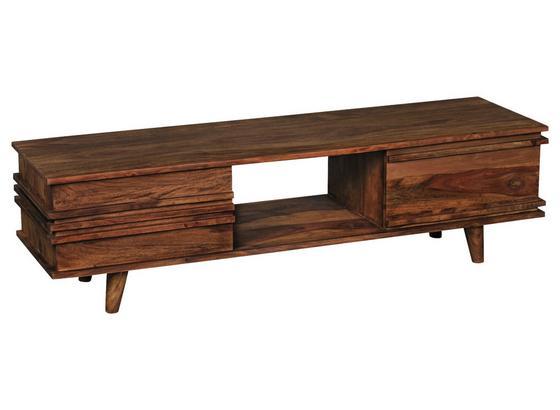 Lowboard Kada B: ca. 145 cm - Sheeshamfarben, Design, Holz (145/41/42cm) - Livetastic
