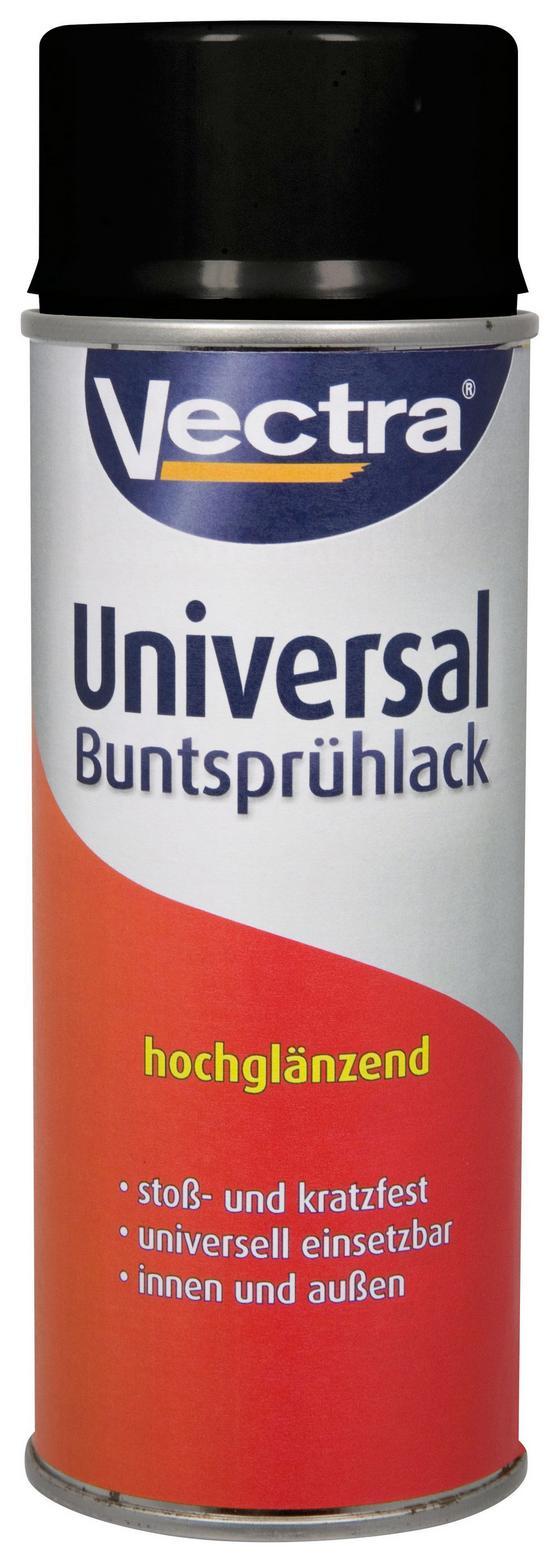 Sprühlack Vectra Tiefschwarz - Schwarz (0,400l)