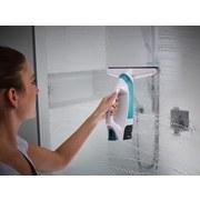 Fenstersauger Aquanta Click - Türkis/Weiß, Basics, Kunststoff (15/26,5/31cm) - Leifheit