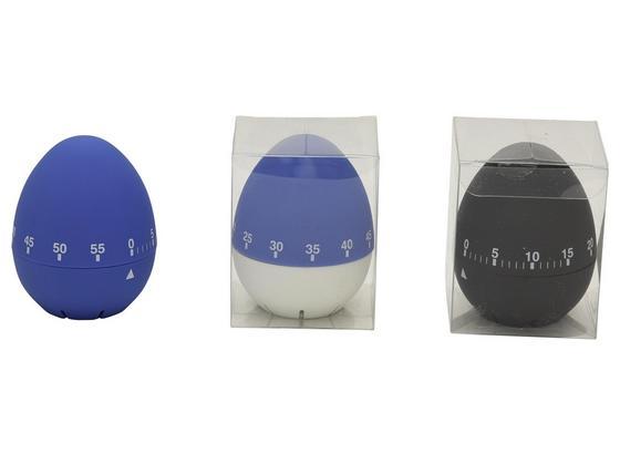 Eieruhr Verschiedene Modelle - Blau/Schwarz, KONVENTIONELL, Kunststoff (6/7,5/6cm)