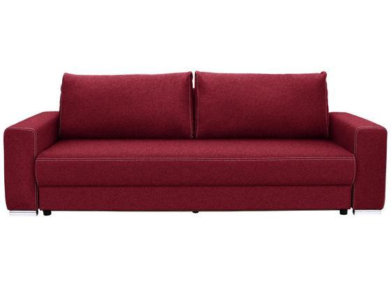 Velká Pohovka Garcia - béžová/červená, Moderní, dřevo/textil (248/90/103cm) - Luca Bessoni