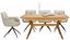 Výsuvný Stôl Ara - farby dubu, Štýlový, drevo (160-210/76/90cm) - Zandiara