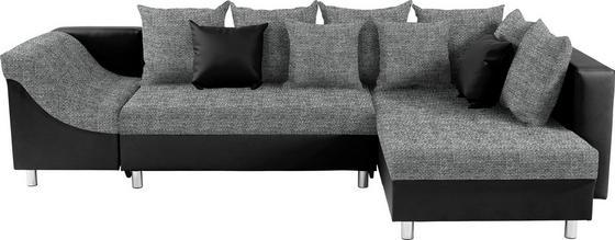 Sedací Souprava Linda - černá/tmavě šedá, Moderní (270/174cm)