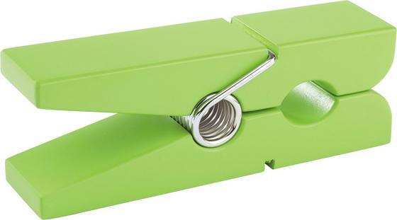 Držiak Na Stenu Gams Zelený - zelená, Konvenčný, drevený materiál (20/5/7,5cm)