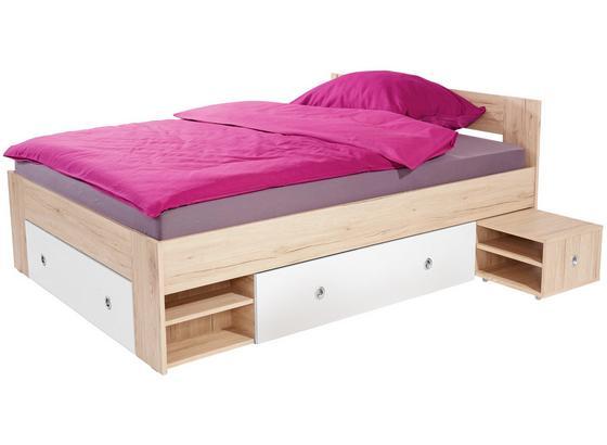 bett 140x200 eiche simple sonoma eiche bett elegant bett sonoma eiche bett x cm eiche san remo. Black Bedroom Furniture Sets. Home Design Ideas