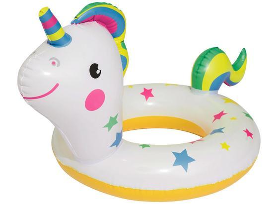 Schwimmtier Happy Animal - Multicolor, Kunststoff (73/71/36cm) - Bestway