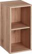 Polc Box - Tölgyfa, modern, Faalapú anyag (23/46/25cm)
