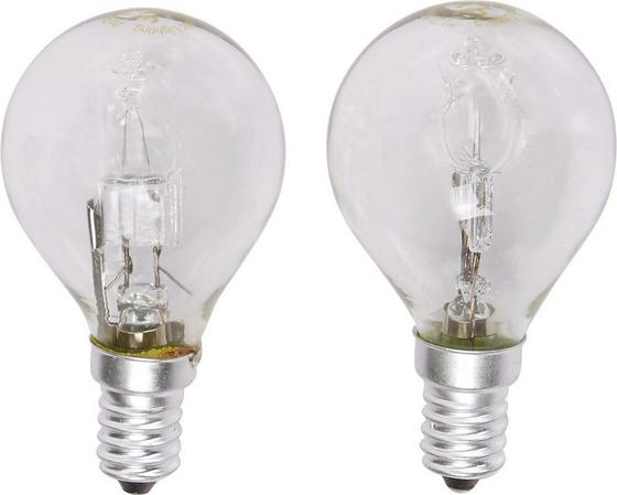 Leuchtmittel 350 lm, E14, C, 2 Stück - Klar, KONVENTIONELL (4,5/8cm)
