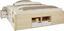 Postel Kiruna - bílá/přírodní barvy, Moderní, dřevo (209/186/48cm) - Modern Living