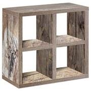 Wandregal Pisa - Eichefarben, Basics, Holzwerkstoff (31/30,8/17,6cm) - MID.YOU