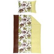 Bettwäscheset Doppelpack, 6-teilig - Braun/Weiß, MODERN, Textil (140/200cm)