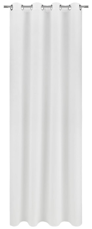 Závěs Hotový Ulli -ext- -eö- - bílá, textilie (140/245cm) - Mömax modern living