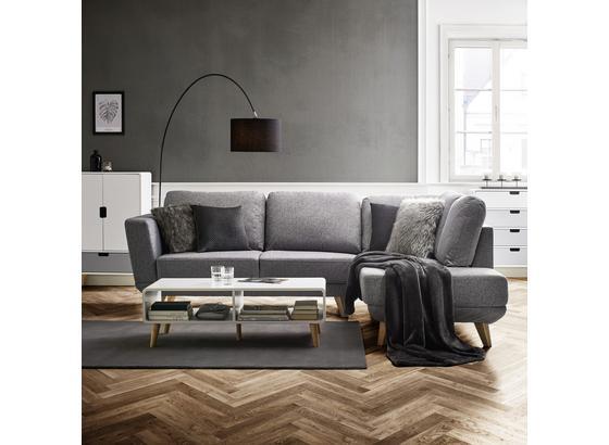 Sedacia Súprava Kyle - svetlosivá, Moderný, drevo/textil (262/196cm) - Modern Living