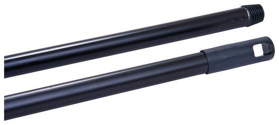 Besenstiel Basic - Schwarz, KONVENTIONELL, Metall (118cm) - Ombra