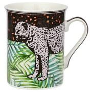 Kaffeebecher Jungle - Multicolor, MODERN, Keramik (0,28l) - Luca Bessoni