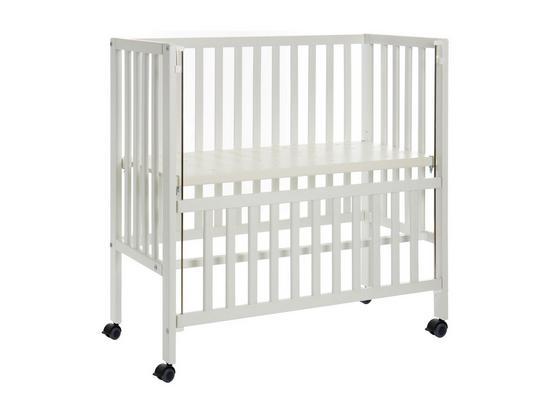 Beistellbett Bedsise Crib Cocon Plus Weiß - Weiß, Basics, Holz (90/40cm) - Fillikid