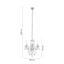 Závesná Lampa Isabella - chrómová/číre, Romantický / Vidiecky, kov/plast (35/125cm) - Mömax modern living