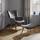 Relaxační Křeslo Merlin - šedá, Moderní, dřevo/textil (71/98/80cm) - Mömax modern living