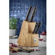 WMF Messerblock Select aus Holz 7-Tlg. - Schwarz/Braun, Basics, Holz/Kunststoff (10/38/20cm) - WMF