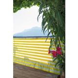 Sichtschutz Ibiza - Gelb/Weiß, KONVENTIONELL, Kunststoff (90/500cm)