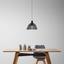 Závěsné Svítidlo Loki - černá, Moderní, kov (25/120cm) - Modern Living