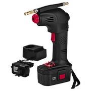 Easymaxx Akku-Handkompressor 12V - Rot/Schwarz, MODERN, Kunststoff/Metall (18/7/28cm)