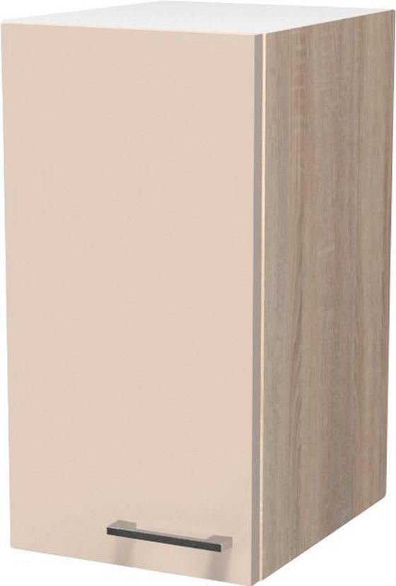 Konyha Felsőszekrény Nepal - Bézs, modern, Faalapú anyag (30/54/32cm)