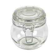Einmachglas, Ilonka ca. 450ml, Bügelverschluss - Klar, KONVENTIONELL, Glas/Metall (11/10,5/cm) - Luca Bessoni