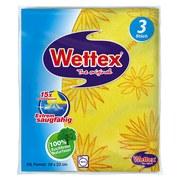 Schwammtuch Wettex 3er - KONVENTIONELL, Textil (18/25/0,7cm)