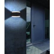 Led Außenleuchte Slice 15 Watt Kunststoff, Wandmontage - Basics, Kunststoff/Metall (11/9cm)