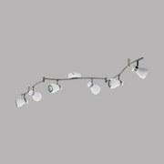 LED-Deckenleuchte Arboledas - Weiß/Nickelfarben, MODERN, Metall (10,5/137,5cm)