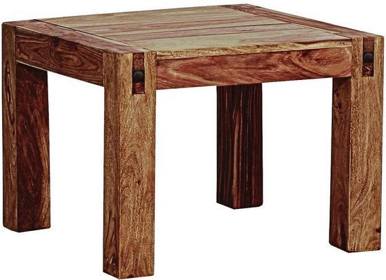 Konferenční Stolek Industry - přírodní barvy, dřevo (60/60/46cm) - JAMES WOOD