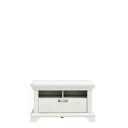 Schuhschrank Kashmir B: 98 cm - Weiß/Pinienfarben, Basics, Holzwerkstoff/Kunststoff (98,5/62/46,2cm)