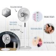 Standventilator Vario Fan - Weiß, Basics, Kunststoff (47/23/47,5cm)